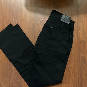 NWT LEE men's slim straight jeans 29 x 32
